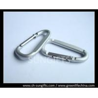 Wholesale D Shaped wire gate carabiners with custom logo from china suppliers