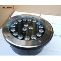 Wholesale 18*1W high power LED underground light;DC24V input;white color;IP68 from china suppliers