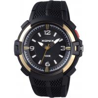 Buy cheap Mens outdoor analog watches with silicon band EL light model QY from wholesalers