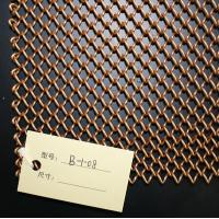 Quality Metal Coil Drapery|Wire Woven Fabrics|Architectural Drapery (1.2mmx6.0mm) for sale