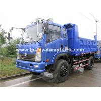 Wholesale Left Hand Driving Small Heavy Duty Dump Truck 150hp , 8.25R16 Radial Tire from china suppliers