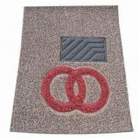 Quality PVC Coil Car Mat with Special Melting Logo, Really Eco-friendly for sale