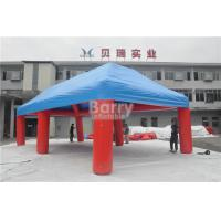 Buy cheap Outdoor Big Event Advertising Inflatable Tent , Red And Blue Portable Air-Saeled Tent from wholesalers