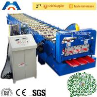 Wholesale PBR / PBU Roofing Sheet Roll Forming Machine PLC Control Hydraulic Cutting from china suppliers
