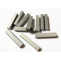 China YG6X Custom Tungsten Carbide Parts , Wood Cutting Solid Carbide Knives on sale