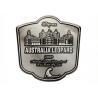 Buy cheap Custom Special Metal Custom Metal Plates Wine Bottle Waterproof Sticker from wholesalers