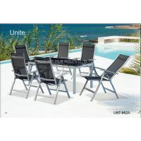 Wholesale Ouside Folding Garden Table And Chairs Patio Dining Sets Comfortable from china suppliers