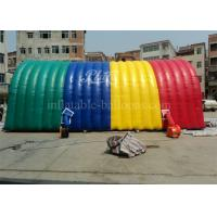 Wholesale Colorful Inflatable Marquee Tent Arch Building Air Supported Structures from china suppliers