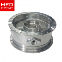 Wholesale 0.018mm Tolerance 5 Axis Anodized 7075 CNC Machined Aluminum Parts from china suppliers