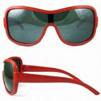 Wholesale Children's Sunglasses with Scratch-resistant Lens, Various Frame Colors are Available, Made of PC from china suppliers