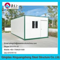 Wholesale flat pack container living dormitory house with 2 bedrooms from china suppliers