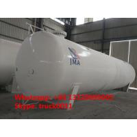 Wholesale export model 65,000L 26MT bulk surface lpg gas storage tank for sale, 65m3 propane gas storage tank for Nigeria market from china suppliers
