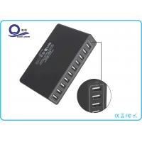 Quality 10 Ports Multiple USB Travel Charger , USB Charging Hub with 50W 10A Power outlet for sale