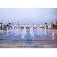 Wholesale Customize Project Large Scale Colored Water Fountains In Big Square from china suppliers