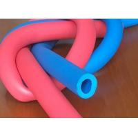 Quality Customized Printed Silicone Foam Tubing , High Temperature Silicone Sponge Rubber Tube for sale