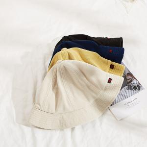 Wholesale Adult Unisex XXL Terry Towel Bucket Hats light yellow from china suppliers