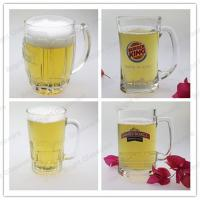 Wholesale high quality glass beer mug widely use in hotel & pub from china suppliers