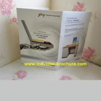 Wholesale 5 Inch digital greeting card with mp4 player / glossry lamination from china suppliers