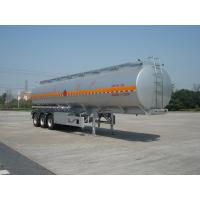 Wholesale 46000L Aluminum Alloy 3 Axles Diesel Oil Tank Trailer , Light Gasoline Trailer from china suppliers