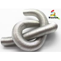 Wholesale Aluminum Flexible Auto Air Duct Hose , Fiberglass Corrugated Car Engine Hoses from china suppliers