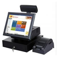 Wholesale All In One Pos System 15 Inch , Touch Stable Pos Systems For Retail Store from china suppliers