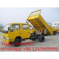Wholesale ISUZU LHD double row 3ton mini dump truck from china suppliers