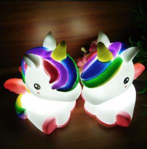 Buy cheap Light Up Unicorn 7 LED Colors Change Shine Night Light Novelty Toy For Kids Flashing My Little Pony from wholesalers