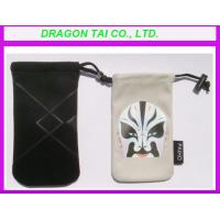 Wholesale Mobile phone drawstring bags, drawstring flannelette bags, drawstring cotton bags from china suppliers