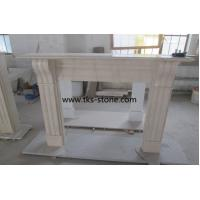 Wholesale Cream Marfil marble,Yellow marble fireplace, fireplace mantel,natural stone fireplace from china suppliers