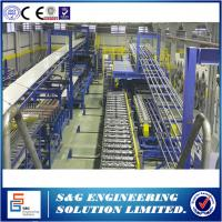 Quality 3 - 6m / Min Speed PU Sandwich Panel Production Line With Roll Forming System for sale