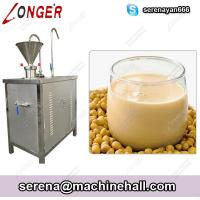 Wholesale Soybean Milk Making Machine|Soya Milk Grinder Production Plant from china suppliers
