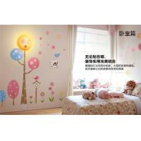 Wholesale Decoration 3D Cartoon Wallpaper Childrens Night Light Eco-friendly from china suppliers