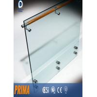 Wholesale 12mm indoor frameless tempered glass railing for stairs balcony from china suppliers