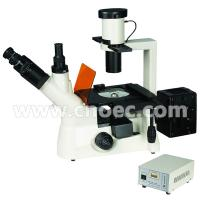 Wholesale Inverted Fluorescent Optical Microscope Trinocular Head 400X Laboratory A16.1102 from china suppliers