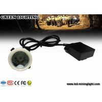 Wholesale Rechargeable Emergency Mining Cap LED Lamp , 1.11W 300mA Mining Headlamp from china suppliers