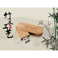 Wholesale laser engraved logo bamboo usb flash stick, 1gb 2gb 4gb 8gb 16gb custom usb flash from china suppliers