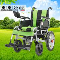 Wholesale Spray Steel Material Small Electric Wheelchair For Indoors Folding Function from china suppliers