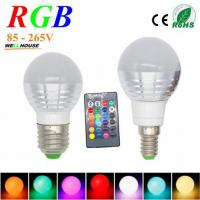 Wholesale 3W RGB Lampada LED Bulb E27 85-265V RGB LED Lamp E27 220V 110V Spotlight Lamparas LED Light Bulb E14 Spot Luz Christmas from china suppliers