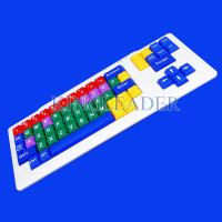 Wholesale Children's learning style color keyboard with large keys K700 from china suppliers