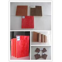 Quality Water resistant red construction plywood board , Brown / black film faced plywood for sale