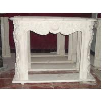 Wholesale China white stone marble fireplace from china suppliers