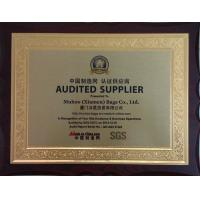 Muhoo(Xiamen) Bags Co.Ltd Certifications
