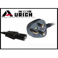 BS Approval Y006 Detachable Power Cord , British Power Cord 250V 2 / 3 Conductor