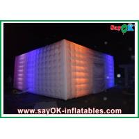 Wholesale Customzied Length 10M Inflatable Air Tent With LED Lighting Three Windows from china suppliers