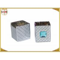 Wholesale Distinct Twist Off Zinc Alloy Perfume Bottle Caps Gunmetal Square Shape from china suppliers