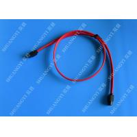 Wholesale Red 18 Inch Custom SATA Data Cables SATA III 6.0 Gbps For Blue Ray DVD CD Drives from china suppliers