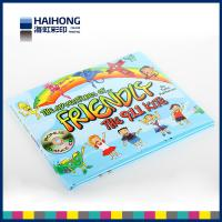Wholesale Children hardcover book printing 157gsm art paper wrapped with 2.5mm grey board from china suppliers