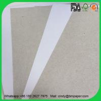 Buy cheap Lowest price 230gsm 250gsm 300gsm C1S duplex board grey back paper from wholesalers