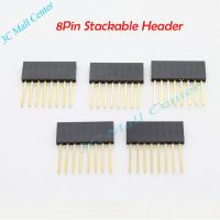 Wholesale Female 8 pin Stackable Header For Arduino Accessories from china suppliers