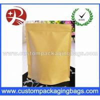 Wholesale Heat Sealing Ziplock Kraft Paper Coffee Packaging Bags With Valve from china suppliers